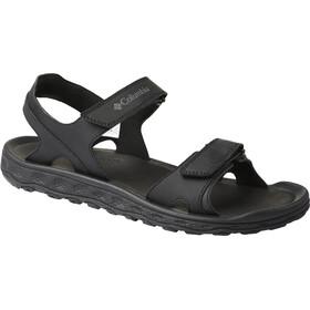 Columbia Buxton 2 Strap Sandals Men grey/black